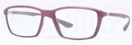 Ray Ban RX7018 Eyeglasses Eyeglasses - 5253 Matte Violet