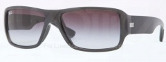 Ray Ban RB4199 Sunglasses Sunglasses - 60068G Shiny Grey / Grey Gradient
