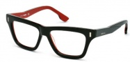 Diesel DL5044 Eyeglasses Eyeglasses - 098 Dark Green