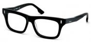 Diesel DL5045 Eyeglasses Eyeglasses - 003 Black / Crystal