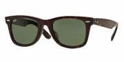 Ray Ban RB2140F Sunglasses Sunglasses - 902 Tortoise / Crystal Green