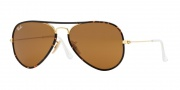 Ray Ban RB3025JM Sunglasses Sunglasses - 001 Arista / Brown