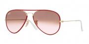 Ray Ban RB3025JM Sunglasses Sunglasses - 001/X3 Arista / Pink Gradient Brown Photo