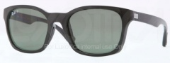 Ray Ban RB4197 Sunglasses Sunglasses - 601/9A Black / Polarized Green