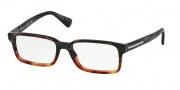 Prada PR 15QV Eyeglasses Eyeglasses - QE1101 Brown