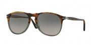 Persol PO9649S Sunglasses Sunglasses - 1023M3 Fuoco e Ardesia / Grey Gradient Polar