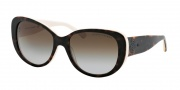 Ralph Lauren RL8114 Sunglasses Sunglasses - 5451T5 Top Dark Havana / Cream / Gradient Brown Polarized