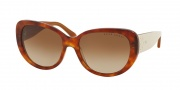 Ralph Lauren RL8114 Sunglasses Sunglasses - 544913 Havana Red Vintage Effect / Gradient Brown