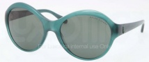 Ralph Lauren RL8111 Sunglasses Sunglasses - 544671 Shiny Green / Green