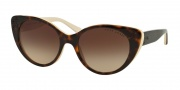 Ralph Lauren RL8110 Sunglasses Sunglasses - 545113 Top Dark Havana / Gradient Brown
