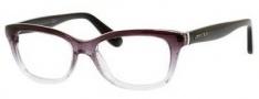 Jimmy Choo 87 Eyeglasses Eyeglasses - 02PY Black / Gray Glitter