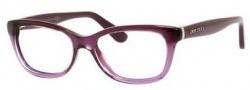 Jimmy Choo 87 Eyeglasses Eyeglasses - 02PS Violet Glitter