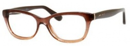 Jimmy Choo 87 Eyeglasses Eyeglasses - 02PI Brown Glitter