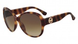 Michael Kors M2893S Violet Sunglasses Sunglasses - 240 Soft Tortoise