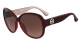 Michael Kors M2893S Violet Sunglasses Sunglasses - 605 Crystal Red