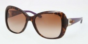 Ralph Lauren RL8108Q Sunglasses Sunglasses - 500313 Dark Havana / Brown Gradient