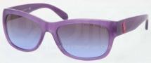 Ralph Lauren RL8106 Sunglasses Sunglasses - 533779 Opal Violet / Violet Gradient