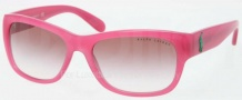 Ralph Lauren RL8106 Sunglasses Sunglasses - 54118D Pink / Pink Gradient