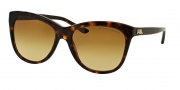 Ralph Lauren RL8105 Sunglasses Sunglasses - 50032L Dark Havana / Brown Gradient