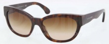 Ralph Lauren RL8101 Sunglasses Sunglasses - 500313 Dark Havana / Brown Gradient