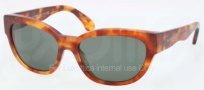 Ralph Lauren RL8101 Sunglasses Sunglasses - 502371 Clear Havana Vintage Effect / Green