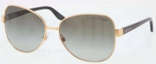 Ralph Lauren RL7041 Sunglasses Sunglasses - 900411 Shiny Gold / Gray Gradient