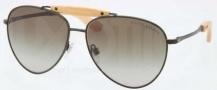Ralph Lauren RL7044 Sunglasses Sunglasses - 90058E Matte Olive Green / Gradient Green