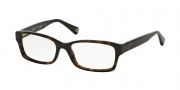 Coach HC6040 Eyeglasses Brooklyn Eyeglasses - 5001 Dark Tortoise