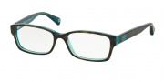 Coach HC6040 Eyeglasses Brooklyn Eyeglasses - 5116 Dark Tortoise / Teal