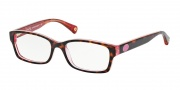 Coach HC6040 Eyeglasses Brooklyn Eyeglasses - 5115 Tortoise / Pink