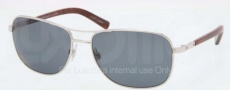 Polo PH3076 Sunglasses Sunglasses - 921981 Shiny Silver / Polarized Grey