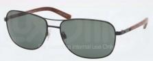 Polo PH3076 Sunglasses Sunglasses - 922371 Shiny Black / Green
