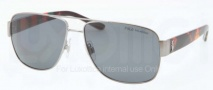 Polo PH3085 Sunglasses Sunglasses - 926181 Shiny Gunmetal / Polarized Grey