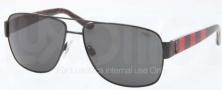 Polo PH3085 Sunglasses Sunglasses - 925887 Shiny Black / Grey