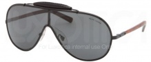 Polo PH3074PQ Sunglasses Sunglasses - 902887 Matte Black / Grey