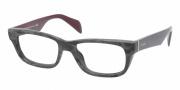 Prada PR 11QV Eyeglasses Eyeglasses - DHP101 Matte Black
