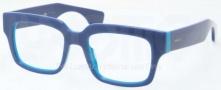 Prada PR 12QV Eyeglasses Eyeglasses - RO1101 Top Blue / Azure