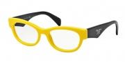 Prada PR 13QV Eyeglasses Eyeglasses - TFA1O1 Yellow