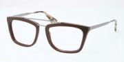 Prada PR 18QV Eyeglasses Eyeglasses - DHO101 Dark Brown