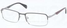Prada PR 61QV Eyeglasses Eyeglasses - OAV101 Top Grey / Gunmetal