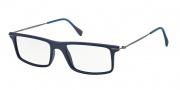Prada Sport PS 03EV Eyeglasses Eyeglasses - TFY1O1 Blue Rubber