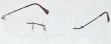 Prada Sport PS 55EV Eyeglasses Eyeglasses - 1BO101 Black Demi Shiny