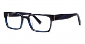 Seraphin Cambridge Eyeglasses Eyeglasses - 8727 Blue Horn