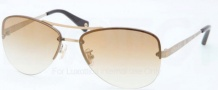 Coach HC7026 Sunglasses Jasmine Sunglasses - 90725A Gold / Gold Flashi Gradient
