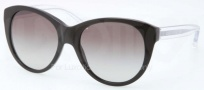 Coach HC8064 Sunglasses Sunglasses - 500211 Black / Gray Gradient