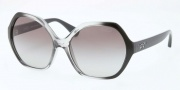 Coach HC8065 Sunglasses Sunglasses - 513211 Black Grey / Grey Gradient