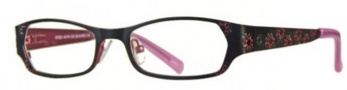Float KP 223 Eyeglasses Eyeglasses - Black / Red