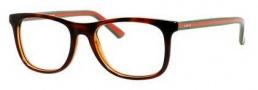 Gucci GG 1056 Eyeglasses Eyeglasses - 00VY Havana