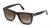 Tom Ford FT0336 Leo Sunglasses Sunglasses - 05K Black / Gradient Roviex