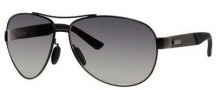 Gucci 2246/S Sunglasses Sunglasses - 04VH Semi Matte Black / Gradient Shaded Polarized Lenses